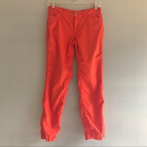 Lauren Ralph Lauren Orange Chinos Cotton Pants 2P